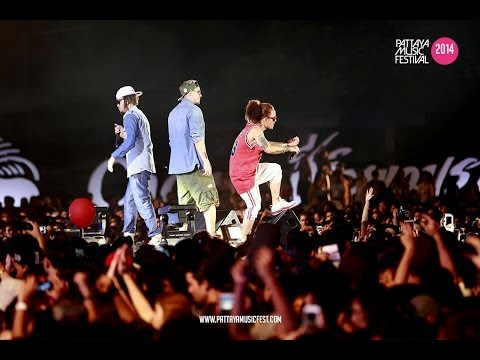 Thaitanium Baby Don't Stop || Pattaya Music Festival 2014 Official