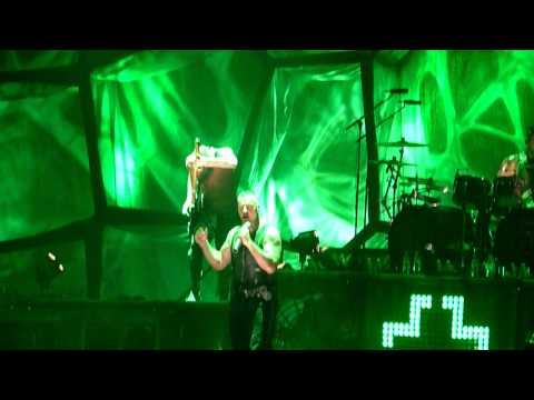 """Rammstein -""""Mutter """" Budapest 2011-11-10 HD"""