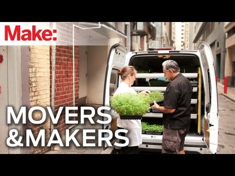 Movers and Makers: Sebastopol Micro Greens