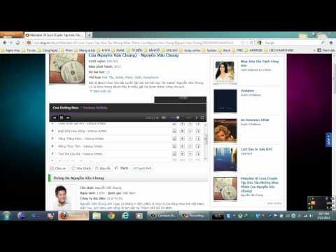trong video Cách download album nhạc từ mp3.zing.vn bằng IDM