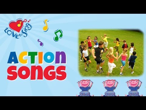 Kids Exercise Video Song | Attention March | Children Love to Sing Kids Action Fitness Songs