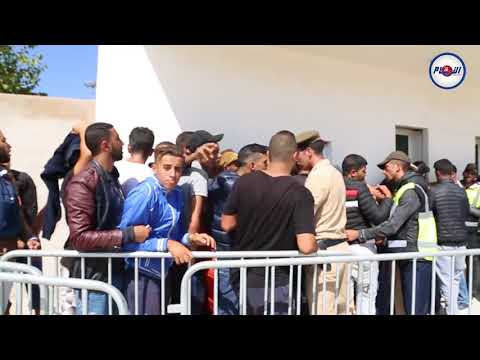فوضى عارمة خلال عملية بيع تذاكر مباراة المغرب والغابون