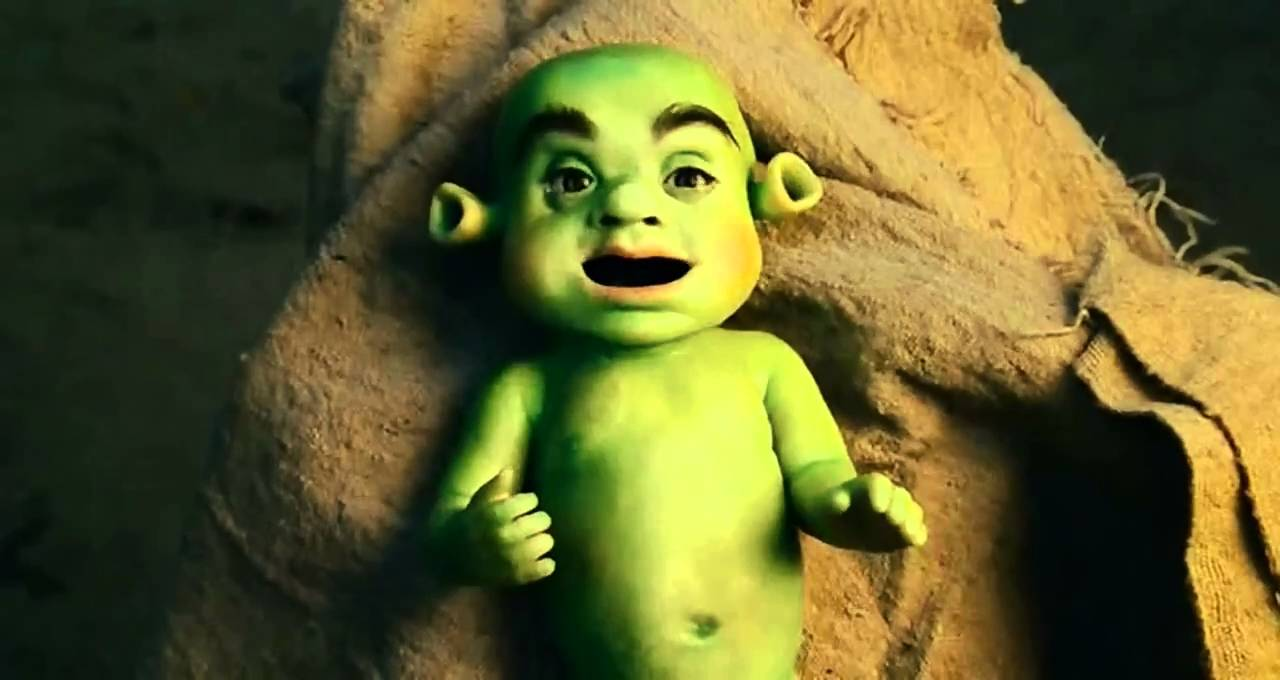 Meet The Spartans Shrek baby (opening scene) - YouTube