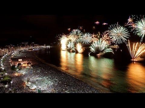 Copacabana Fireworks - New Year 2014 / Reveillon / Rio de Janeiro / Fogos ano novo