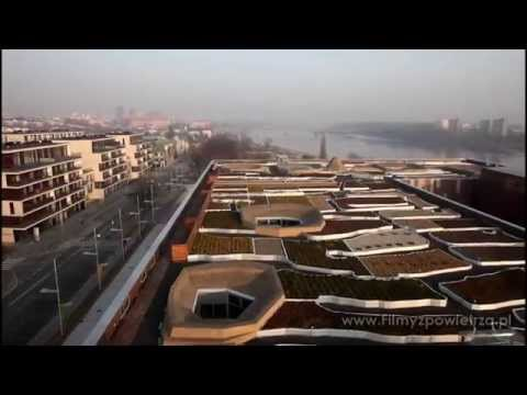 Warszawa gotowa na Euro 2012 ! Film z powietrza z oktokoptera.