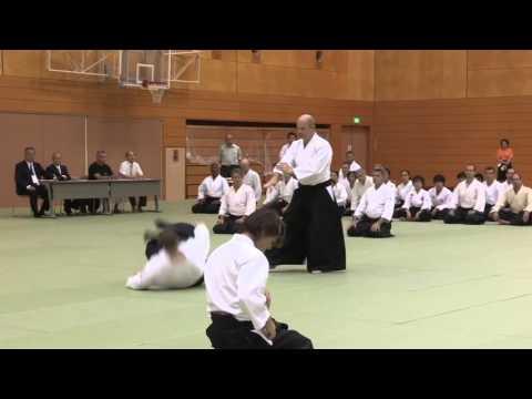 Netherlands - 11th International Aikido Federation Congress in Tokyo - Demonstrations