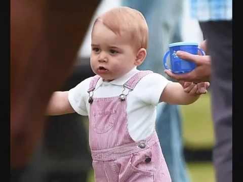 Happy 1st Birthday to Prince George of Cambridge!