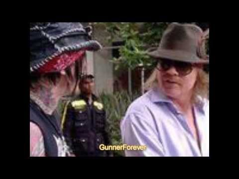 Axl Rose and DJ Ashba (funny moments)