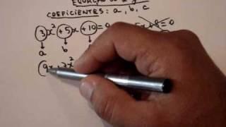 Matemática, Equação Do 2º Grau, Coeficiente A, B, C