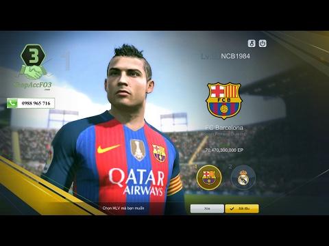 Mua Bán Acc Fifa Online 3 VIP | Torres E8 +5 - Vidic U10 +5 - Carlos U6 +5 - 250 Tỷ| Shopaccfo3.com