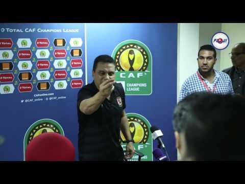 فوضى بسبب مدرب الأهلي المصري بعد مباراة الوداد