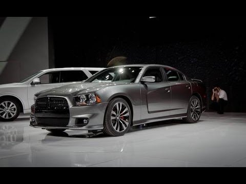 2012 Dodge Charger SRT8 @ 2011 Chicago Auto Show - Car and Driver