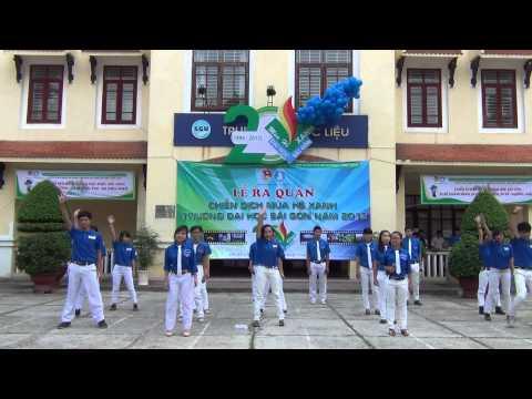 [Xanh tình nguyện] - Liên khúc Mùa hè Xanh - Lễ ra quân Mùa hè Xanh 2013 trường Đại học Sài Gòn