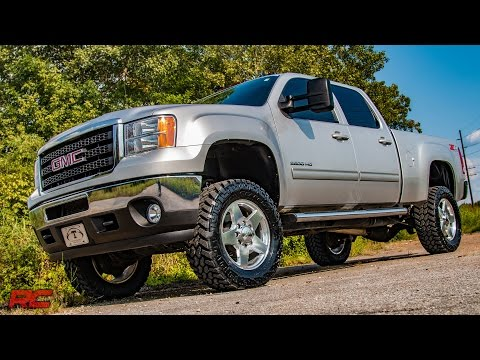2011-2017 GM HD 3.5-inch No-Cut Suspension Lift Kit by Rough Country