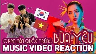 BÙA YÊU MV REACTION | Người Hàn cũng muốn làm fan của BÍCH PHƯƠNG