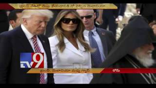 Trump & wife Melania to part ways?, Melania's gesture ..