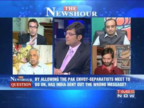 The Newshour Debate: Nawaz Sharif needles India again - Full Debate
