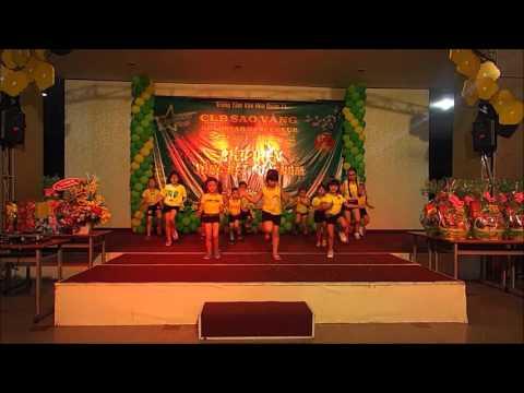 Nhảy hiện đại thiếu nhi - liên khúc gummy bear và dân vũ rửa tay - Goldstar Dance Club