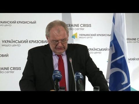OSCE observers begin their mission in Ukraine