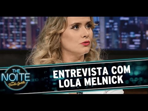 The Noite (10/12/14) - Entrevista  Lola Melnick
