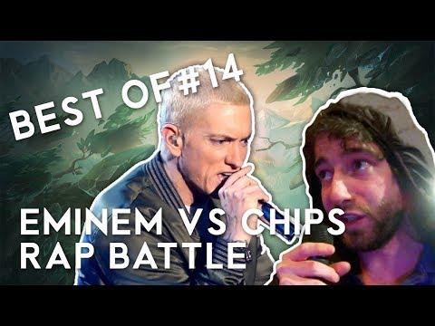 BEST OF LOL #14 - Eminem vs Chips Rap Battle - League of Legends