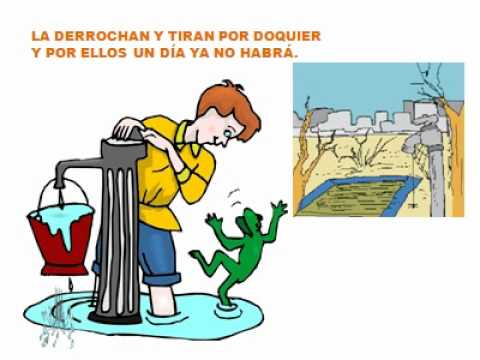 Recomendaciones para cuidar el agua con dibujos - Imagui