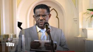 Jan 19 2014 Mekane Yesus Church TV Program Sermon by Dr Melese Wogu part 1