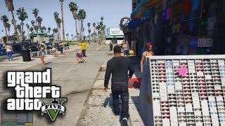 Grand Theft Auto V: Gameplay! New Official Trailer (GTA V