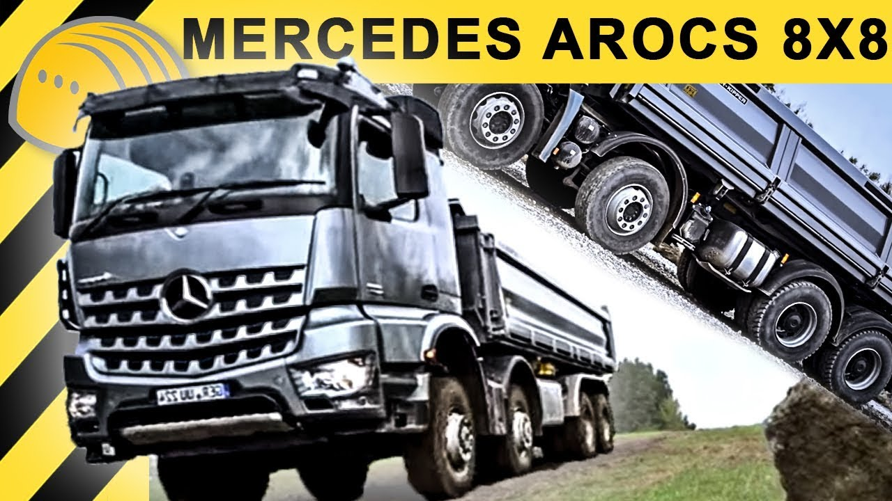 extreme trucking mercedes benz arocs offroad testdrive walkaround bauforum24 tv 1080p. Black Bedroom Furniture Sets. Home Design Ideas