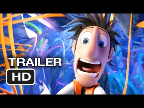 Cloudy With A Chance Of Meatballs 2 Official Theatrical Trailer (2013) - Bill Hader Movie HD