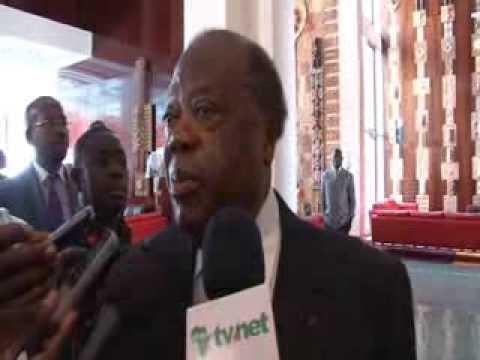En visite à Abidjan, Kofi Annan, Président des Elders rencontre Banny