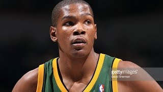 Kevin Durant's First NBA Game! IMPRESSIVE