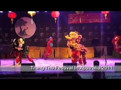 Tet Trung Thu In Australia 2011  ( Lion Dance - Mua Lan )