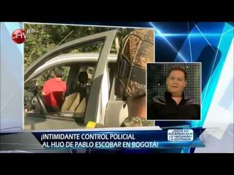 El arriesgado regreso del hijo de Pablo Escobar a Colombia 2/3