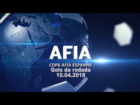 Gols da Rodada 10/04 Copa AFIA Espanha - Palma de Mallorca - 2018