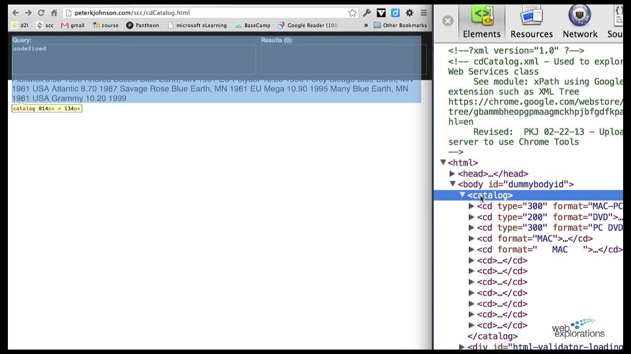 Using XPath Helper to Understand XPath Statements - YouTube