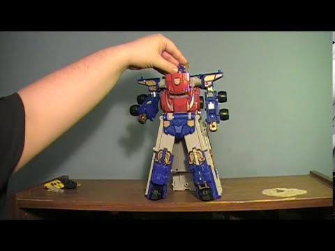 Armada Optimus Prime with Sparkplug Review