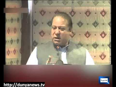 Dunya News-Nawaz Sharif in Gilgit