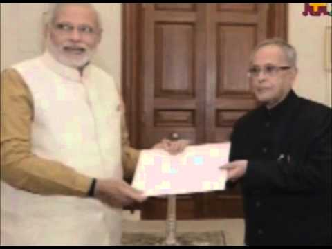 Narenda Modi sworn in as India's 15th Prime Minister