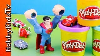 PLAY-DOH Wall, Super Hero, Cars 2, And Disney Planes