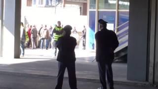 Napoli-Roma, giallorossi che arrivano al San Paolo