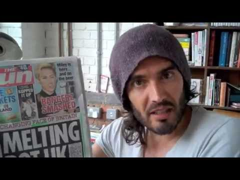 Is Miley Cyrus Being Sacrificed? Russell Brand The Trews Ep50!