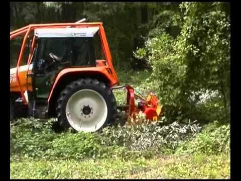 SEPPI M. - MINIFORST - light Forestry mulcher / Forstmulcher / trincia forestale leggera