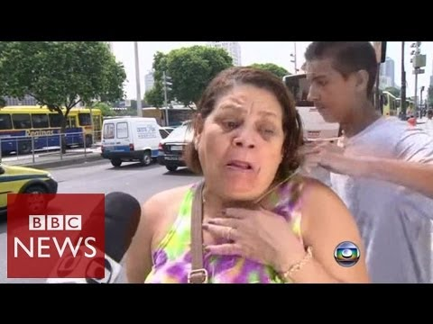 Rio robbery attempt filmed by TV crew