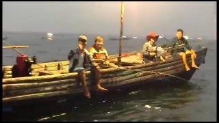 [Trải nghiệm] - Câu mực đêm tại biển Trà Cổ - Móng Cái