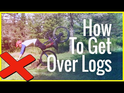 8.5 Ways to get over a log | MTB Trails |  Skills with Phil