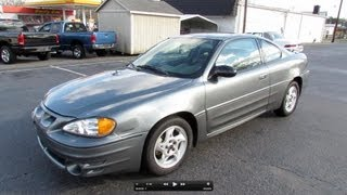 2005 Pontiac Grand AM GT V6 Coupe Start Up, Exhaust, and In Depth Review