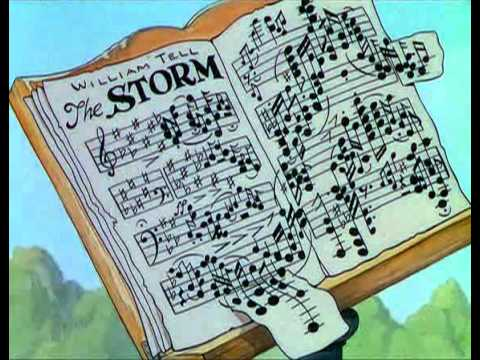 Mickey Mouse Cartoon - The Band Concert (1935)