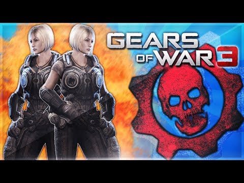 Gears of War 3 Funtage - GIRL RAGE FUN! (Screamer, 1v1 Madness, NOOB)