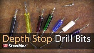 Watch the Trade Secrets Video, Depth Stop Drill Bits